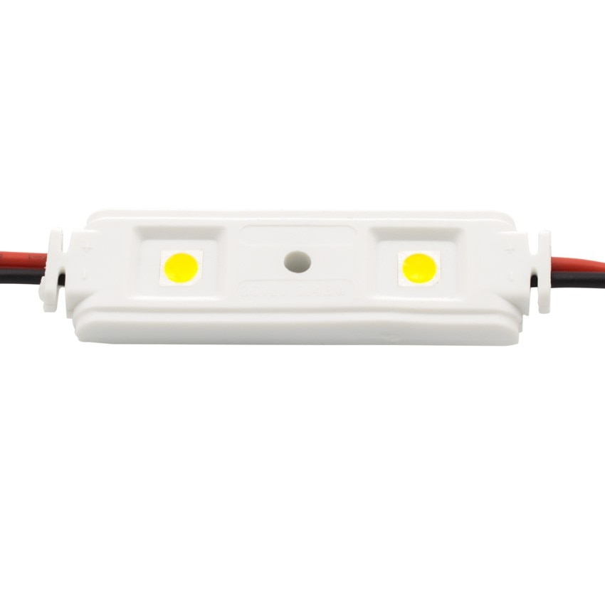 Corrente de 20 Módulos Lineáis de 2 LEDs SMD5050 12V 0.48W