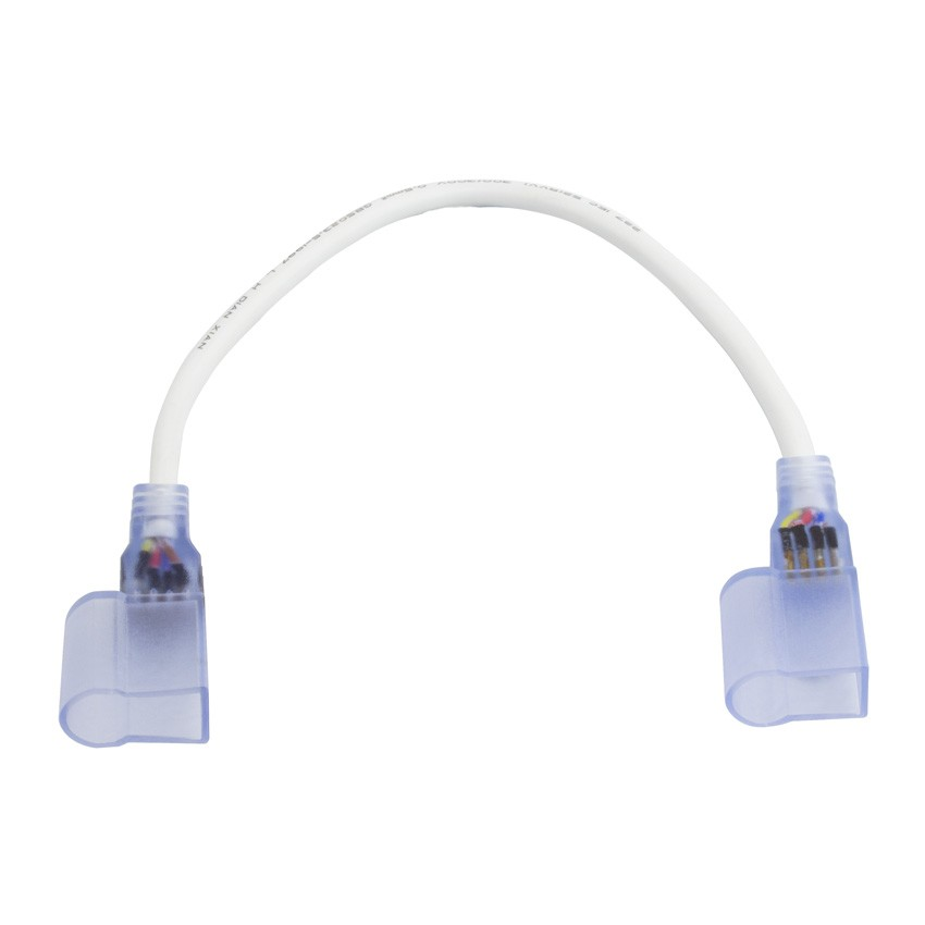 Cable Conector Neón LED Flexible RGB