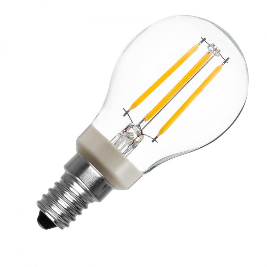 Bombilla LED E14 P45 Regulable PHILIPS Filamento Luster CLA 4.5W