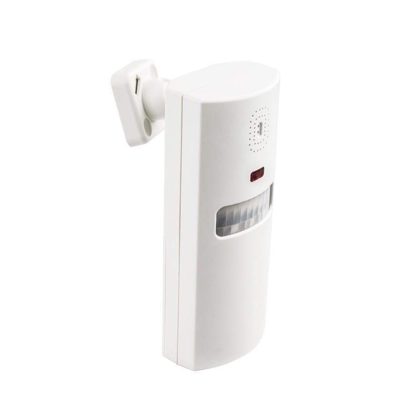 Alarma con Sensor Infrarrojos y Control Remoto
