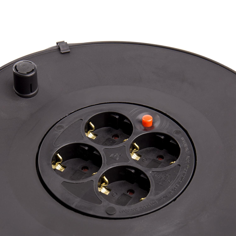 Carrete-Alargador-de-Cable-25m-Liso-3x1-5-mm-Componentes-Electricos miniatura 12