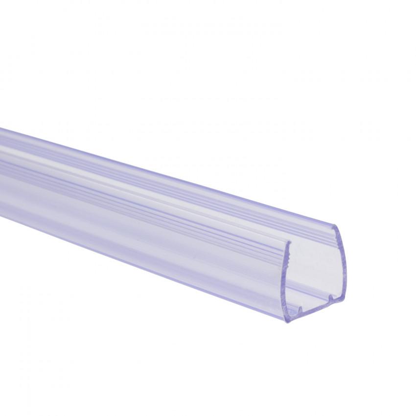 Perfíl de PVC 1m para Mangueiras Néon LED Flexivél Monocor