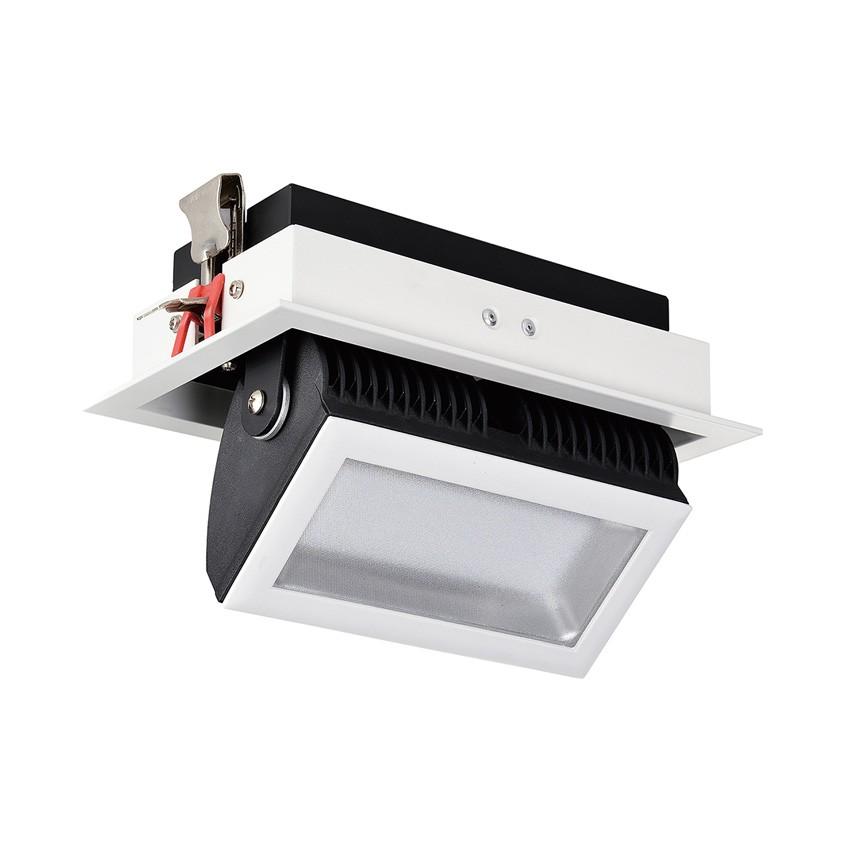 Foco Projector LED SAMSUNG 120lm/W Direccionável 140º Rectangular 38W