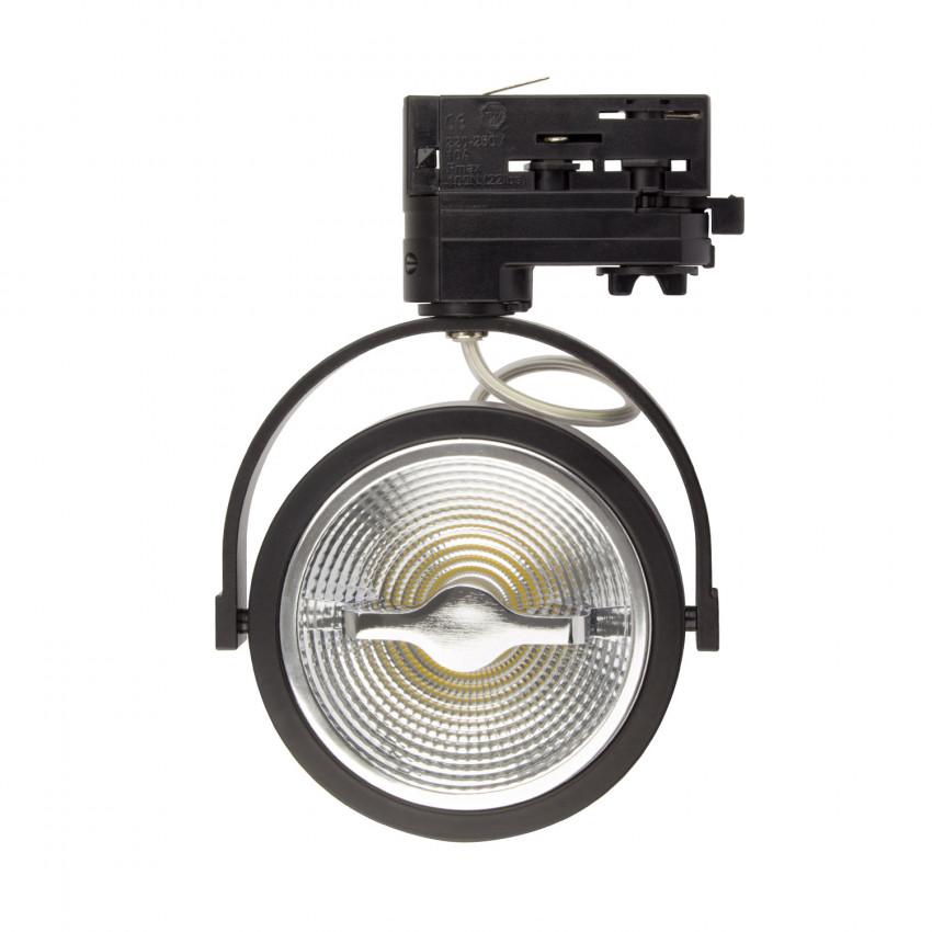 Foco LED Cree AR111 15W Negro para Carril Trifásico