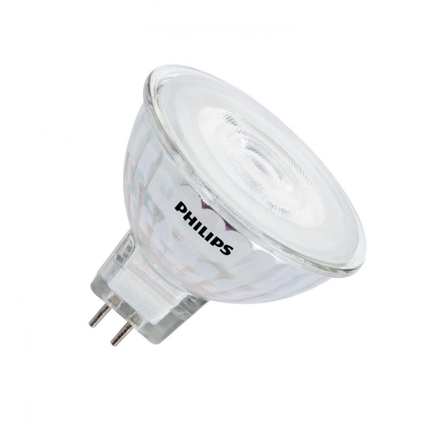 Bombilla LED GU5.3 MR16 12V Regulable PHILIPS SpotVLE 36º 5.5W