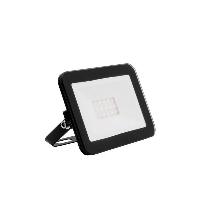 Foco Proyector LED 10W 120lm/W Slim Cristal Negro