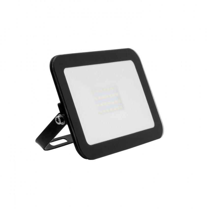 Foco Proyector LED 20W 120lm/W Slim Cristal Negro