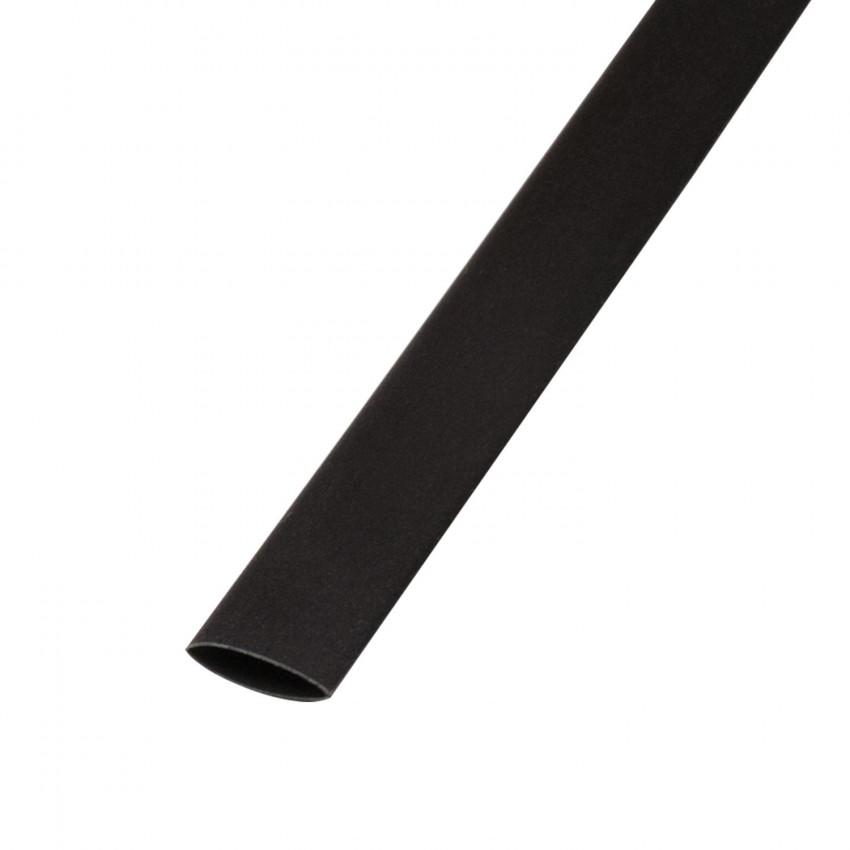 Tubo Termoretráctil Negro Contracción 3:1 9mm 1 metro
