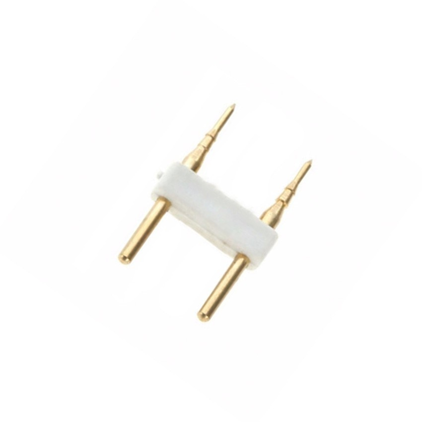 Conector 2 PIN Tira LED Monocolor 220V AC