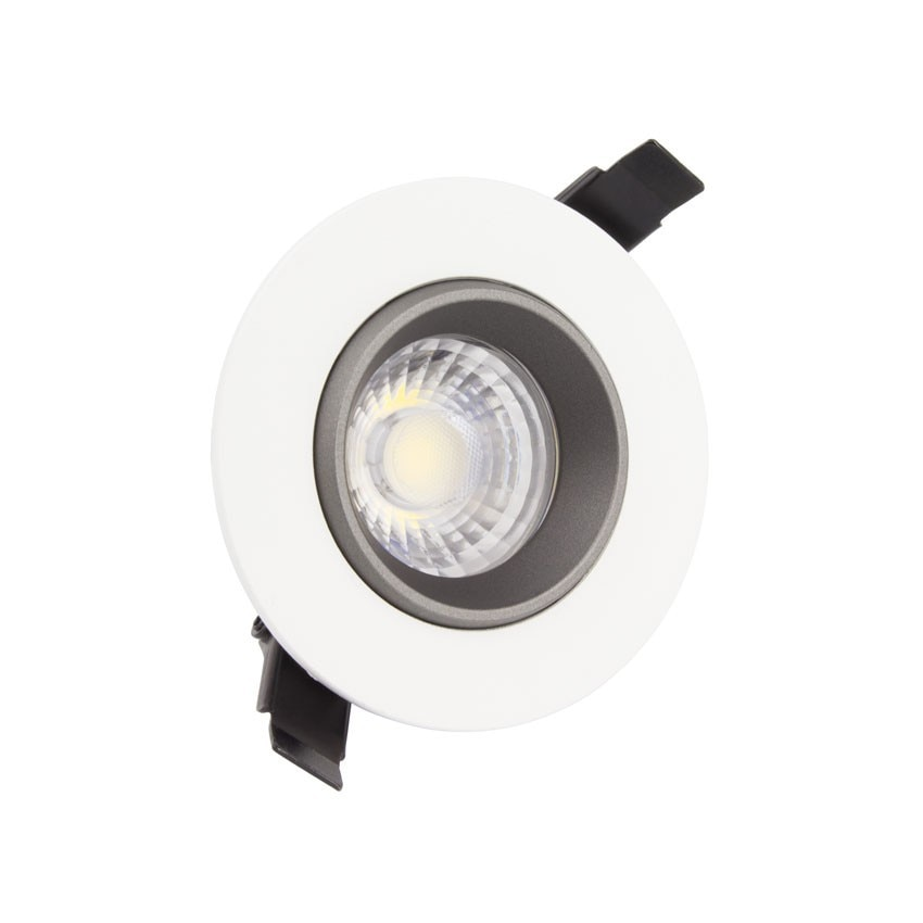 Foco Downlight LED 18W COB Direccionable 360º Circular Design Corte Ø 120 mm