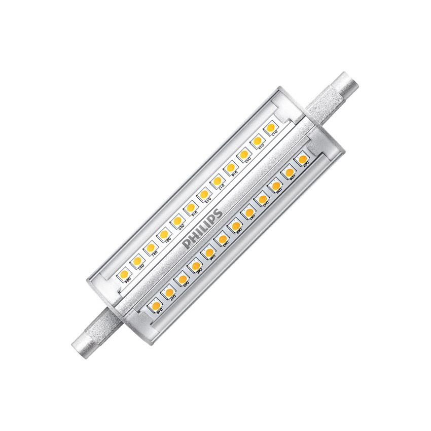 Lâmpada LED R7S Regulável PHILIPS CorePro 118mm 14W