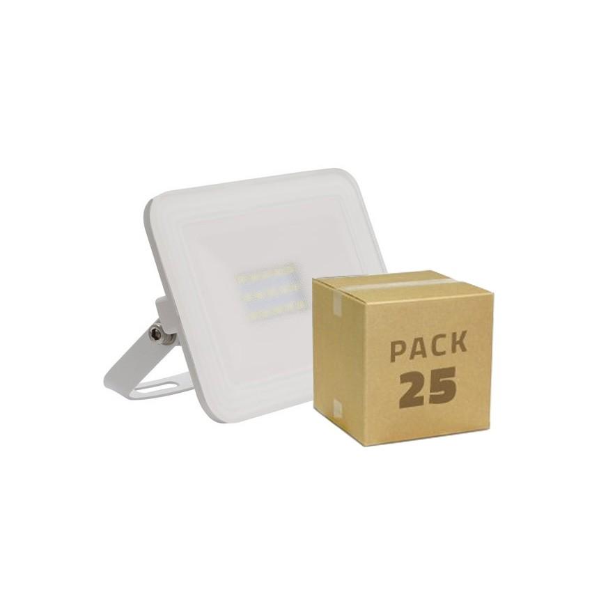 Pack Foco LED Slim Cristal 10W Blanco (25x2.99€)