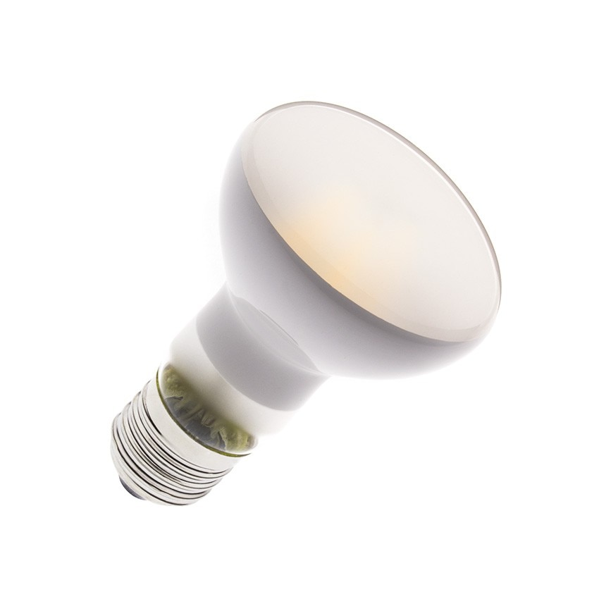 Lâmpada LED E27 Regulável Filamento R63 Frost 6W