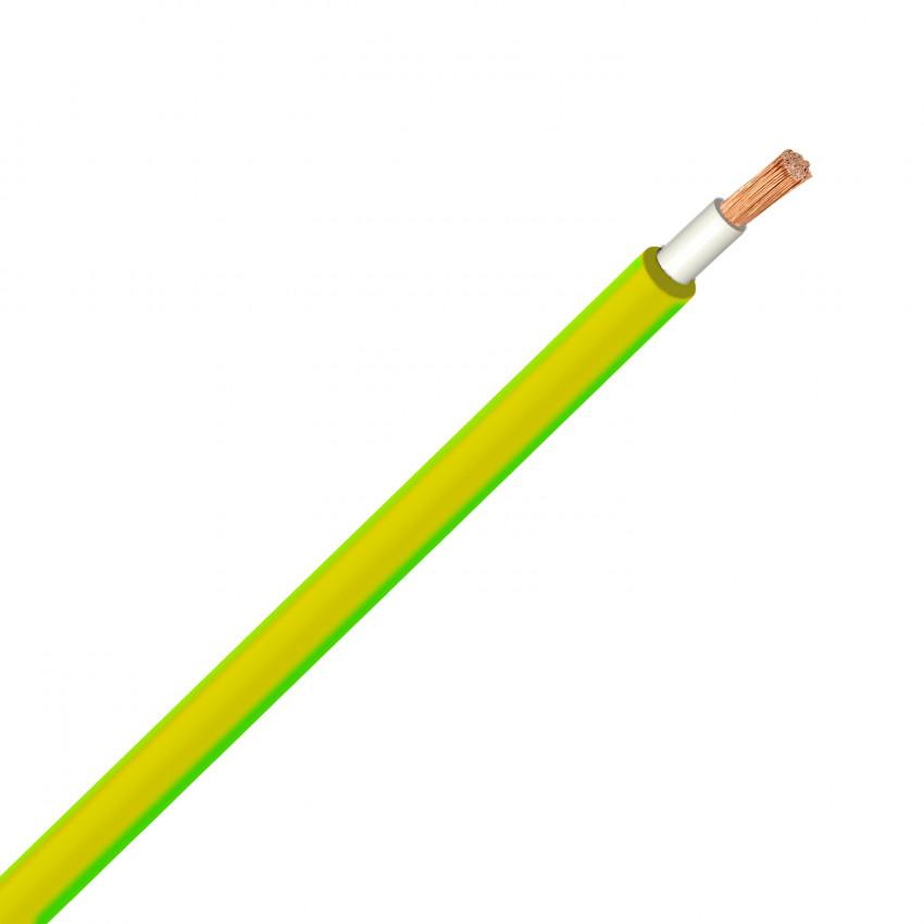 Cable 6mm² H07V-K Amarillo Verde