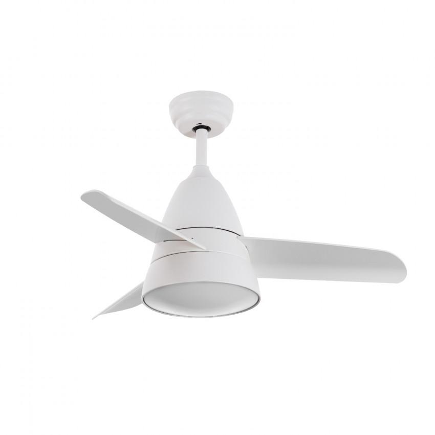 Ventilador de Techo Industrial Blanco LED CCT Seleccionable 55W