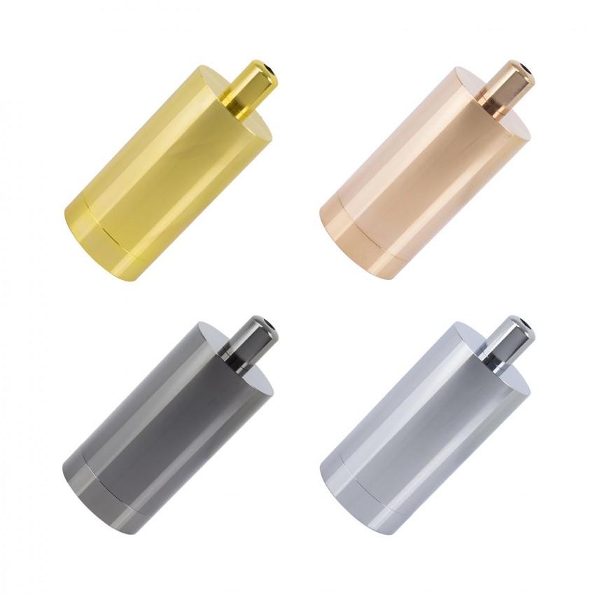 Porta-Lâmpadas Metalizado para Lâmpadas E27