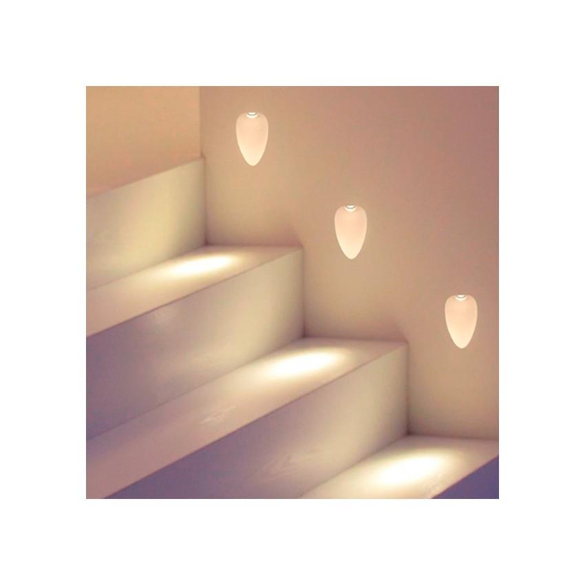 Integração de parede LED Hopal 1W