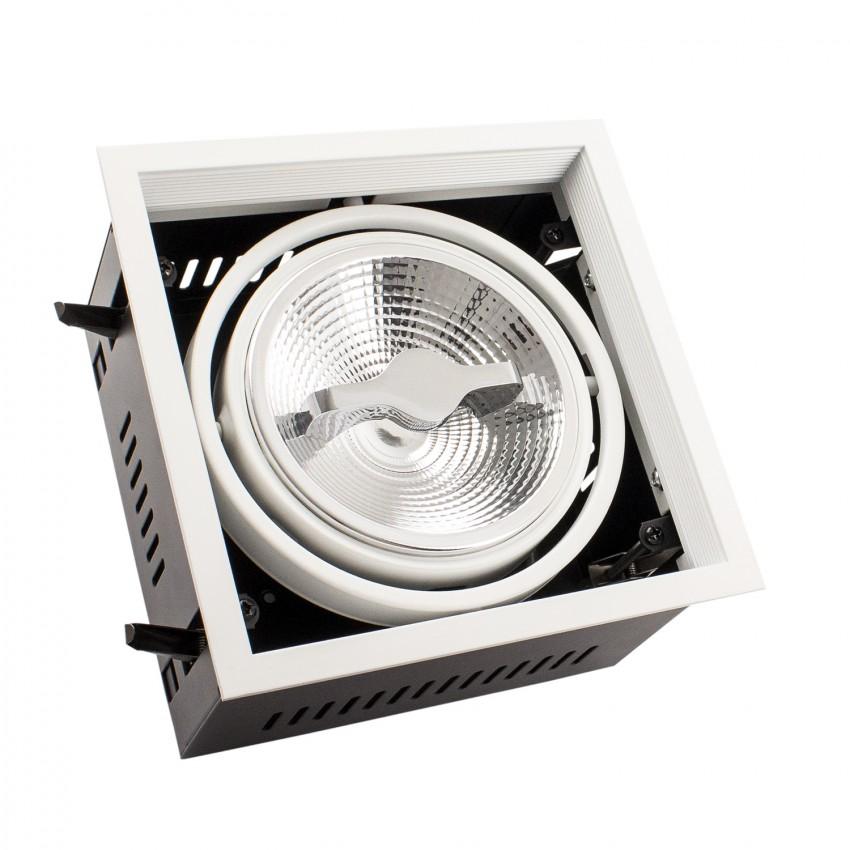 Foco Downlight LED CREE-COB Direccionável AR111 15W Regulável Corte 160x160 mm