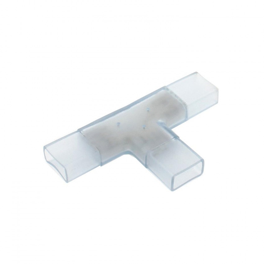 Conector Tipo T Fita LED SMD5050 RGB 220V AC