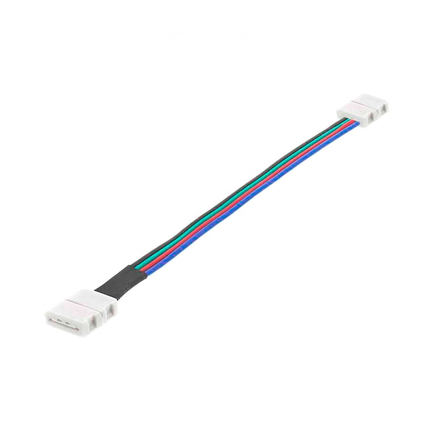 Cable Doble Conector Rápido Tira LED 12/24V RGB 10mm