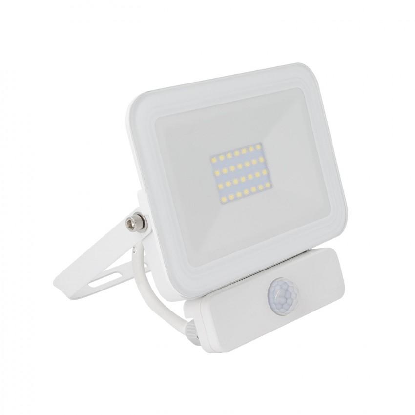 Foco Proyector LED Slim con Detector de Movimiento PIR 20W