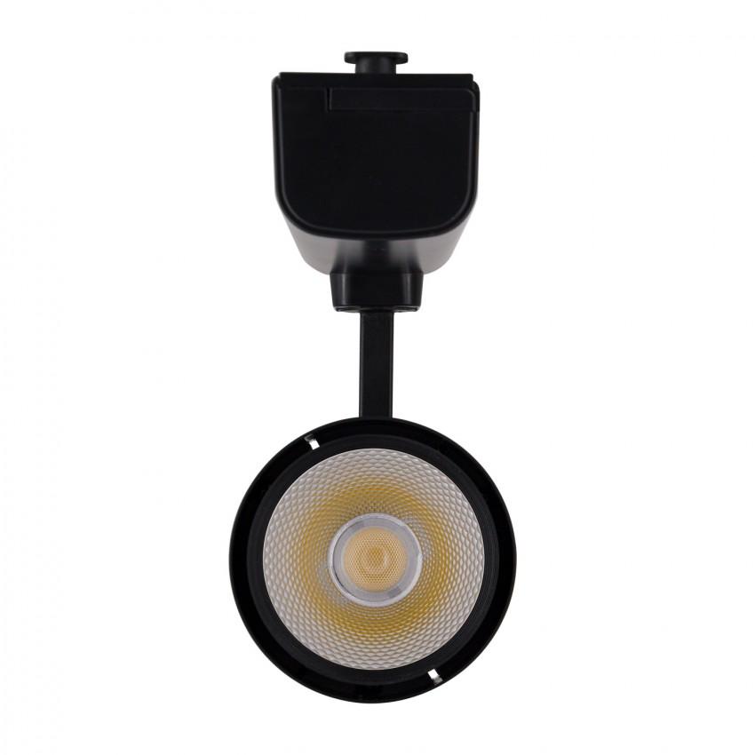 Foco LED Dora para Carril Trifásico 30W Preto