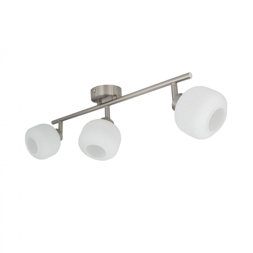 Lámpara de Techo Orientable Enna 3 Focos Blanco