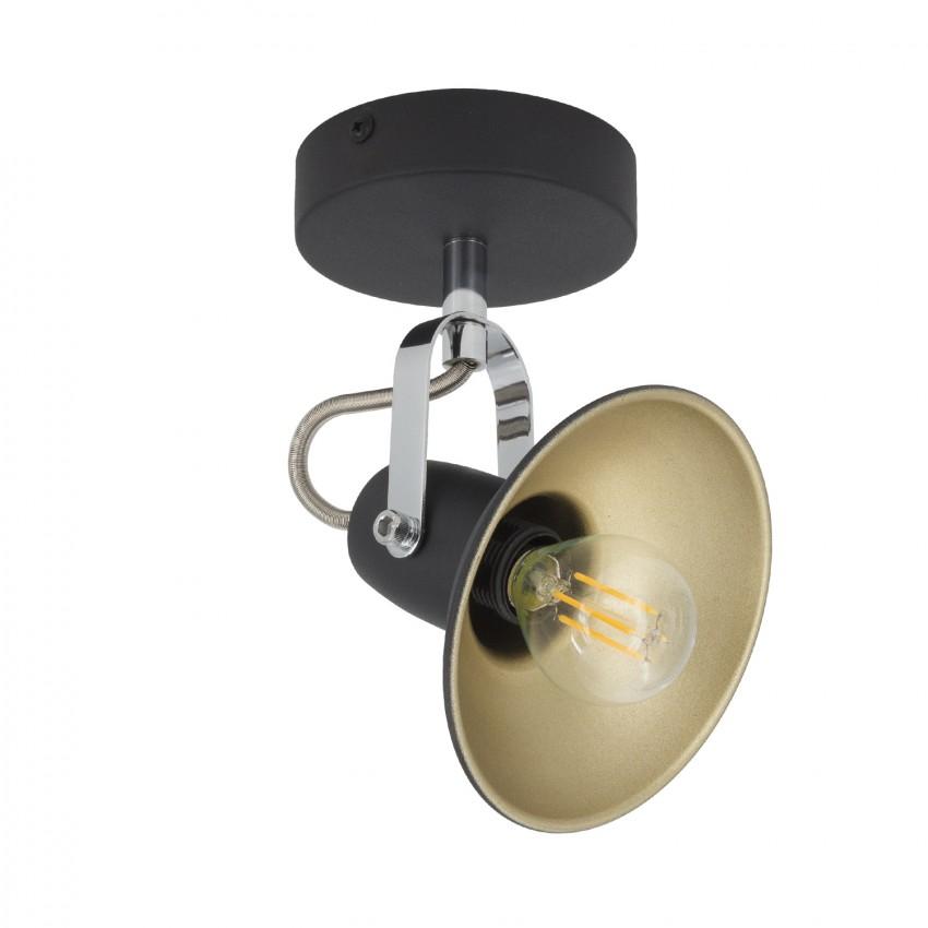Lámpara Orientable Talar 1 Foco Negro