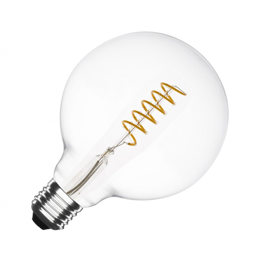 Bombilla LED E27 Regulable Filamento Orbit G125 4W