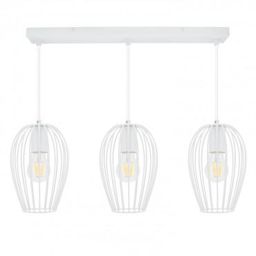 Lámpara Telmi 3x Blanco