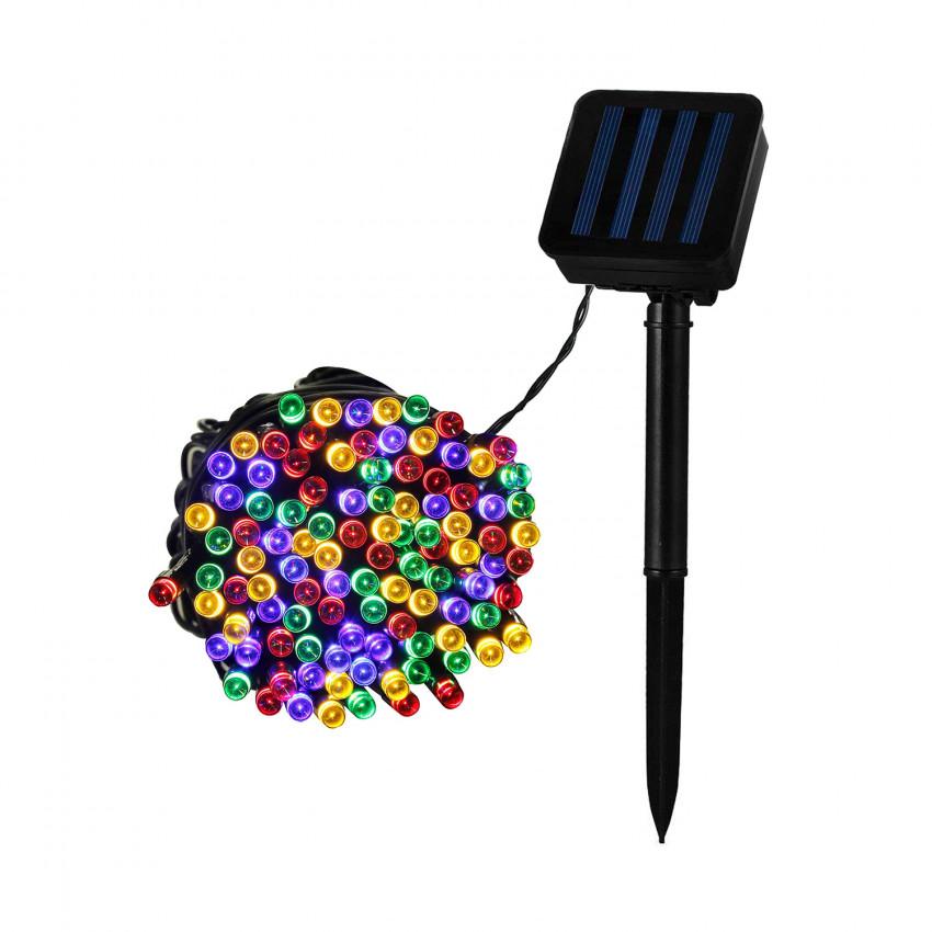 Grinalda Fio LED com Carregador Solar 22m
