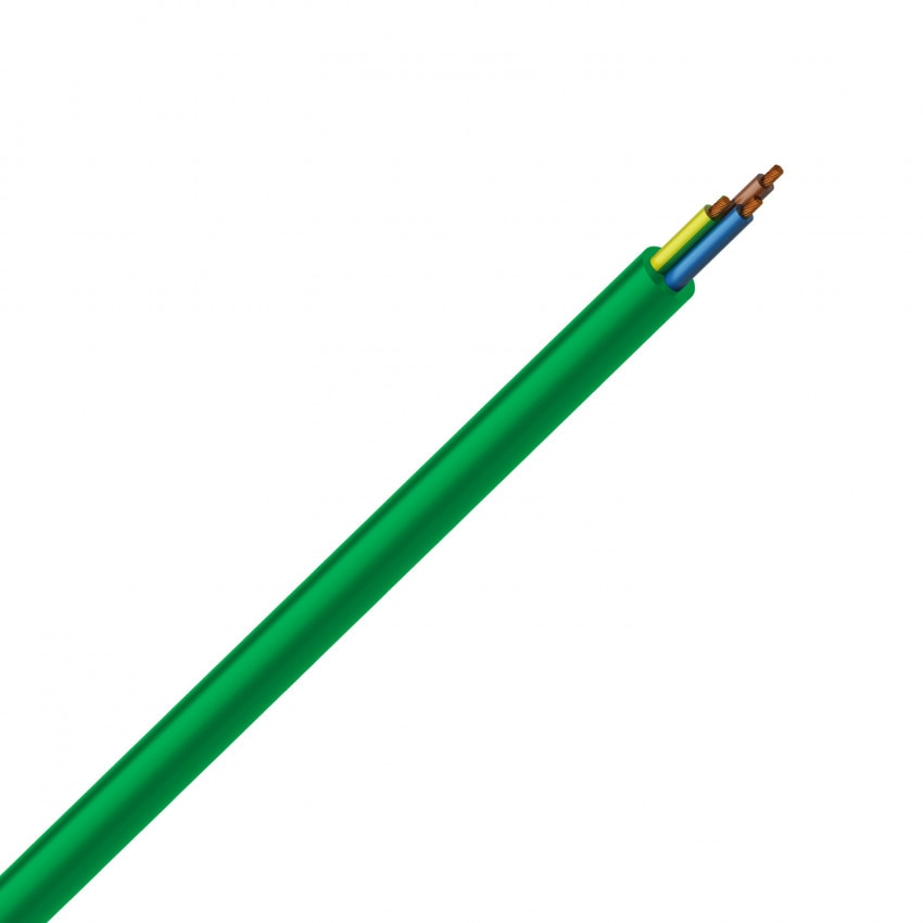 Cable Eléctrico Manguera 3x6mm² Libre Halógenos RZ1-K (AS)