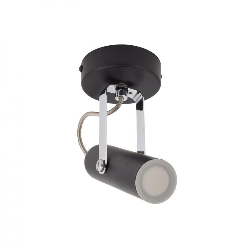 Aplique LED Orientável Bari 1 Foco 4W Preto