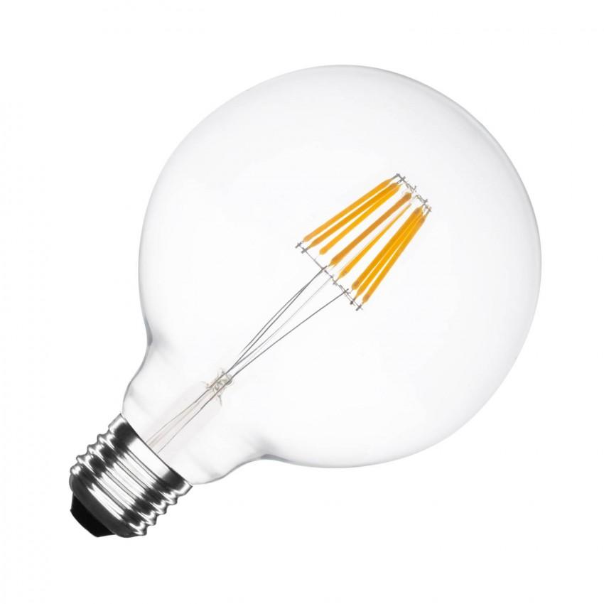 Lâmpada LED E27 Regulável Filamento Supreme G125 6W