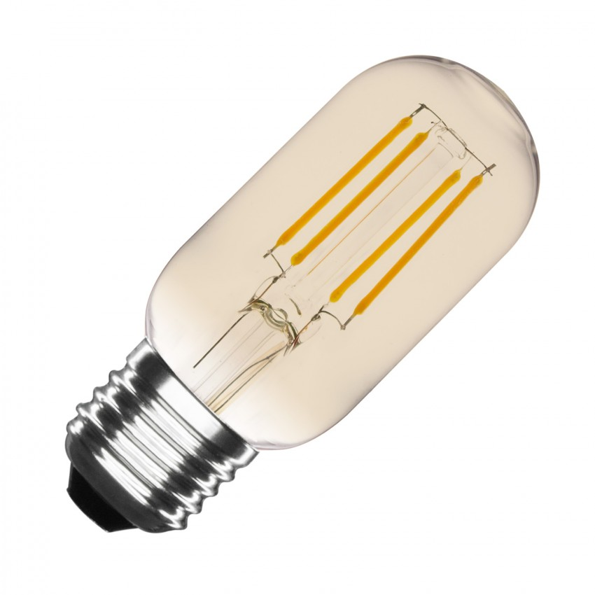 Bombilla LED E27 Regulable Filamento Gold Tory T45 4W