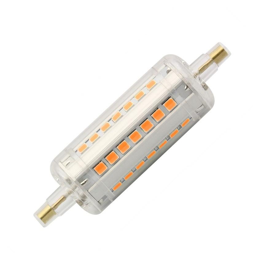 Bombilla LED R7S Slim 78mm 5W