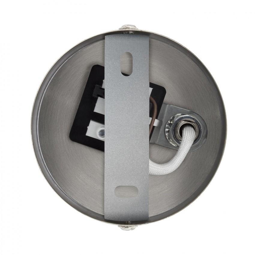 Pack Aplique Orientável Braço Superior Emer 1 Foco Prata (2 Un)