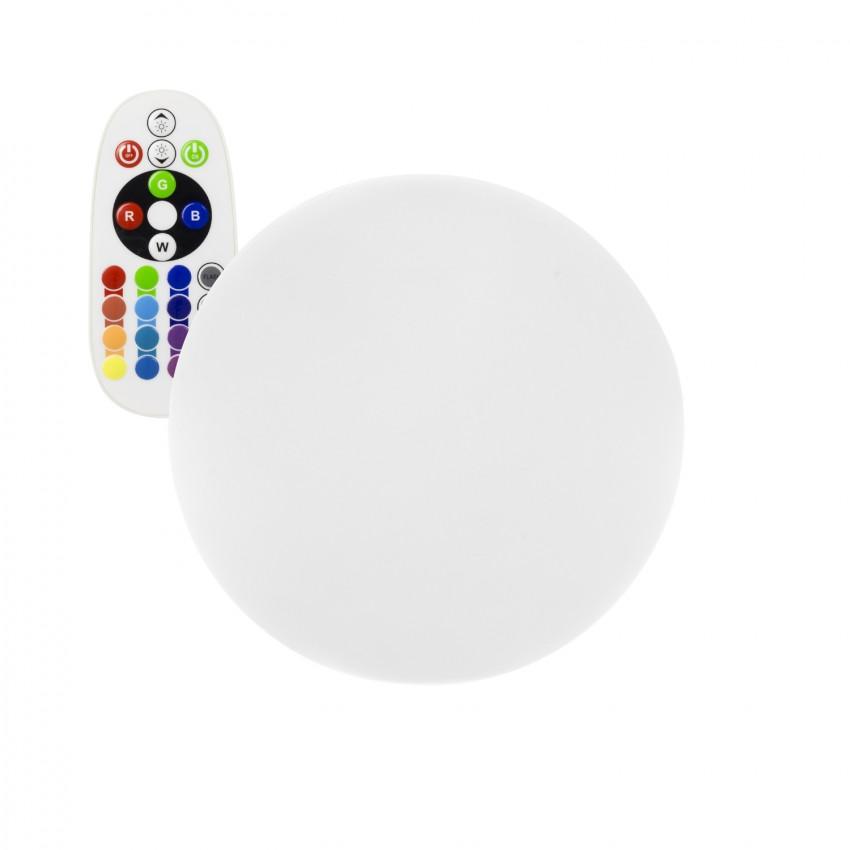 Esfera LED RGBW 20cm Recarregável