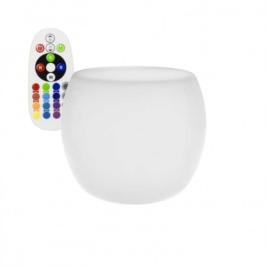 Silla Cono LED RGBW  Recargable