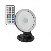 Foco Proyector LED Direccionable 360º RGB 20W Negro