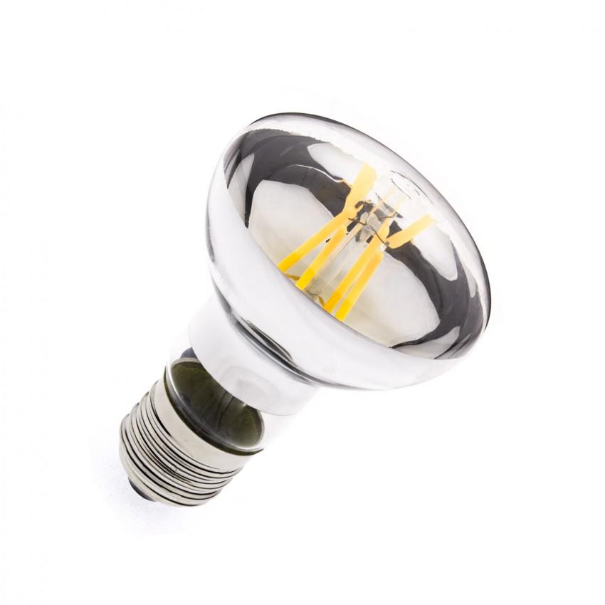 Lâmpada LED E27 Regulável Filamento R63 6W