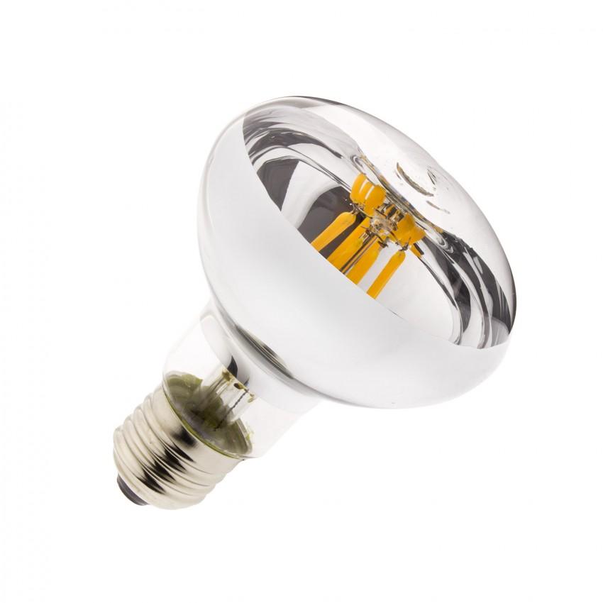 Lâmpada LED E27 Regulável Filamento R80 6W