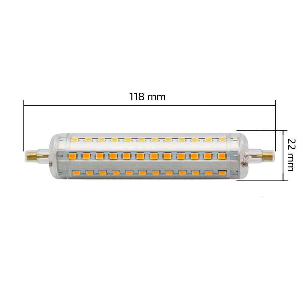 Bombilla Led R7s Slim 118mm 10w Efectoled