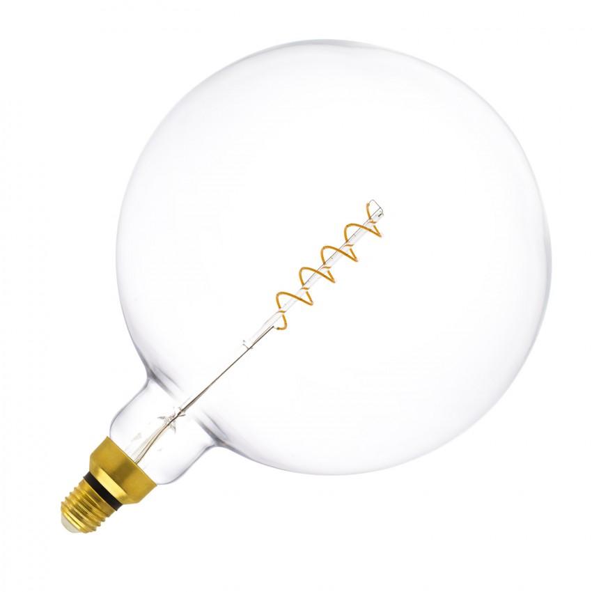 Bombilla LED E27 Regulable Filamento Espiral Big Supreme G250 4W