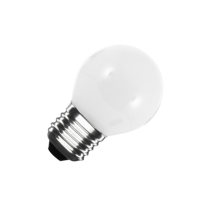 Lâmpada LED E27 G45 Glass 4W