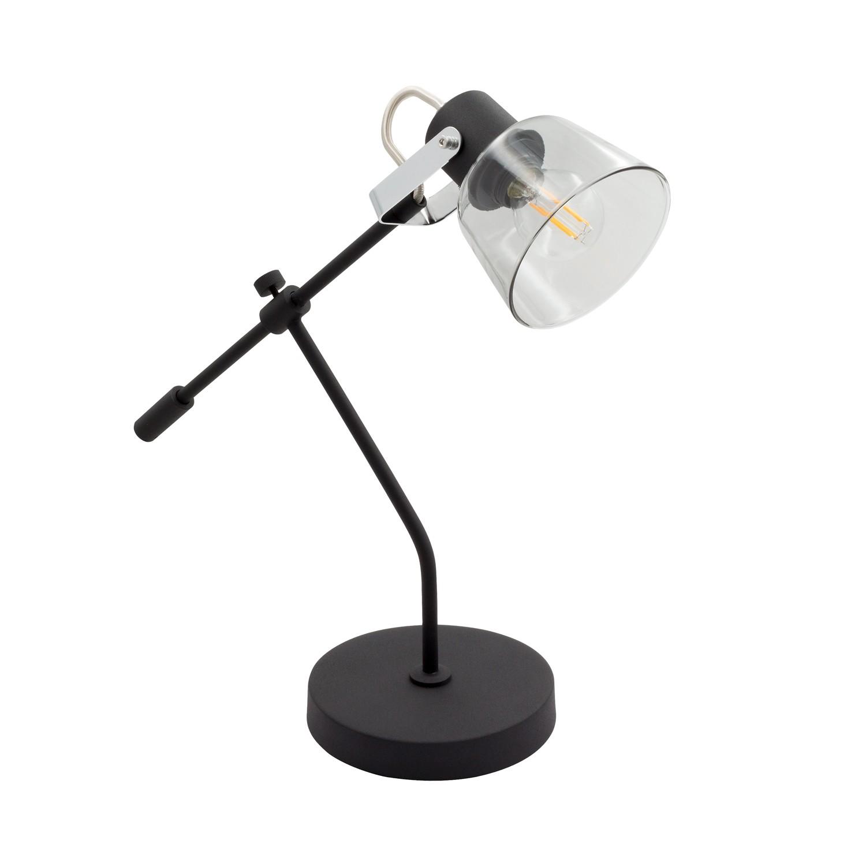 Lámpara de Sobremesa Ajustable Tivo Negro