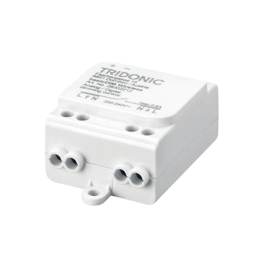 Regulador Inalámbrico 1/10V DALI basicDIM TRIDONIC compatible con Smartphone