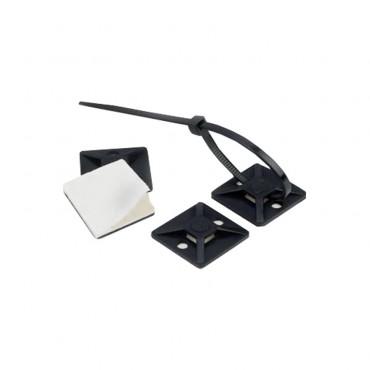 Pack Abraçadeiras para Exterior Scotchflex 3M FS 100 AWC C-C 2,5mm x 100 mm (100 Uds)