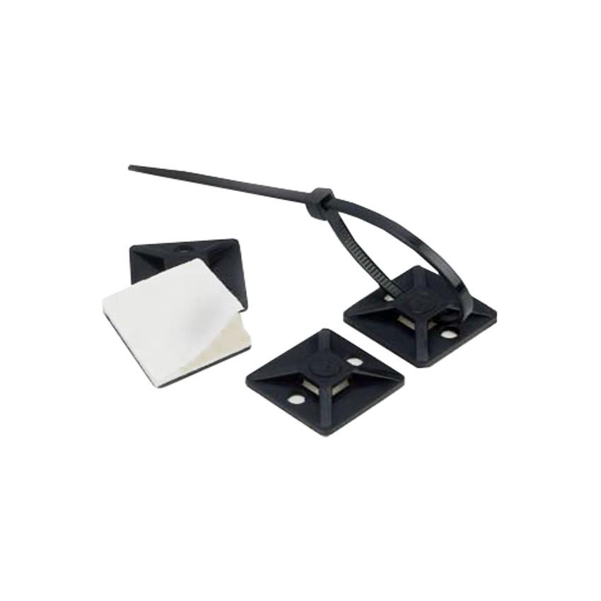 Pack Base Auto-Adesiva para Abraçadeiras Scotchflex 3M CTA BC 19 x 19mm (100 Uds) 3M 7000092452-CC