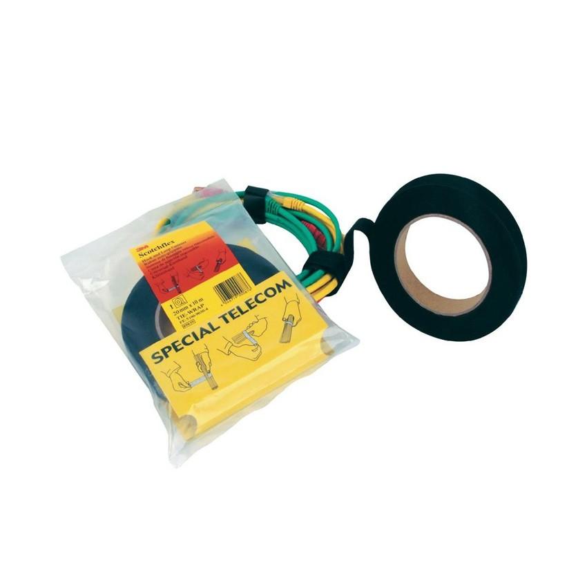 Cinta de Velcro para Sujeción de Cables Scotchflex 20mm x 10m 3M 7000033355-N